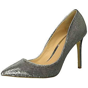 Jewel Badgley Mischka Women's JADE Shoe, silver, M095 M US