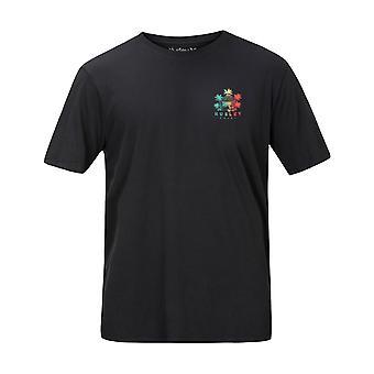 Hurley Get Shacked Short Sleeve T-Shirt in Dk Smoke Grey