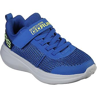 Skechers Boys Gorun Fast Tharo Breathable Sports Trainers