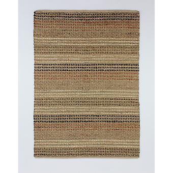 Flair Rugs Natural Living Seagrass Traditional Woven Floor Rug