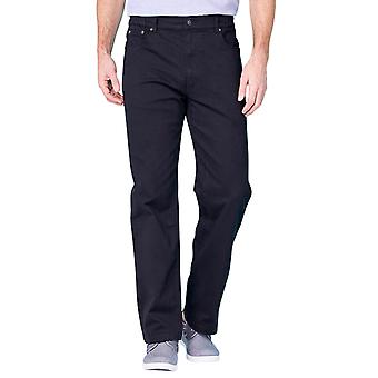 Mens Pegasus Twill Stretch Jean with Side Elastic Waist