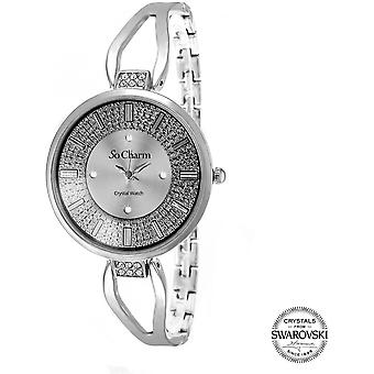 Bekijk so charm horloges MF276-ARGENT - Dameshorloge