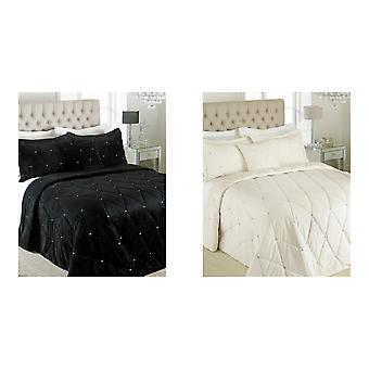Riva Paoletti New Diamante Bedspread Set