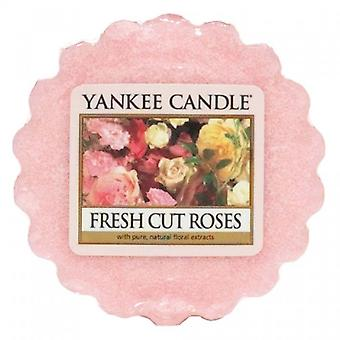 Yankee Candle Wax Tart Melt Fresh Cut Roses