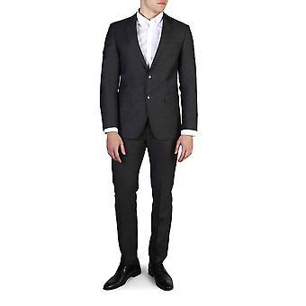 Tommy Hilfiger Original Männer ganzjährig Anzug - grau Farbe 41098