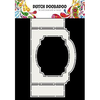 Hollandsk Doobadoo Fold kort kunst billet med ramme A4 470.713.703