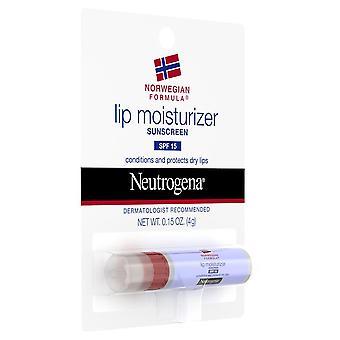 Neutrogena norsk formel leppe fuktighetskrem, spf 15, 0,15 oz