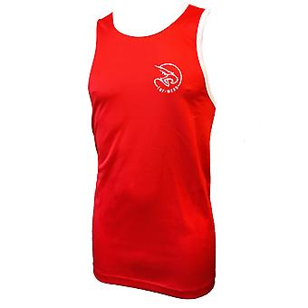 Tuf Wear Kids Junior Club Box Vests Red