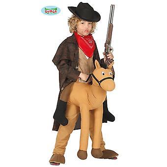 Cavalo de cowboy traje crianças crianças traje