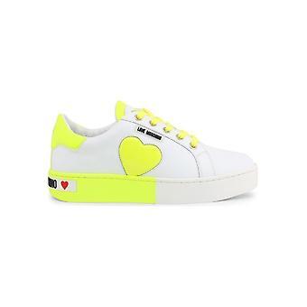 אהבה מושלנו-נעליים-סניקרס-JA15023G1AIF_210A-נשים-לבן, greenyellow-EU 39