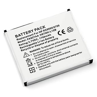 Battery for HP Compaq iPAQ 300 310 312 314 316 Pocket PC PDA rx5700 rx5710 rx5720 rx5725 rx5730