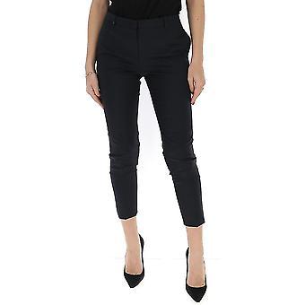 Fabiana Filippi Pad260b186c0955101 Women's Black Polyester Pants