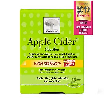 New Nordic Apple Cider 720mg Tablets 60 (NLF038)
