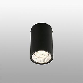 Faro - Rel svart 25W LED søkelys FARO64201