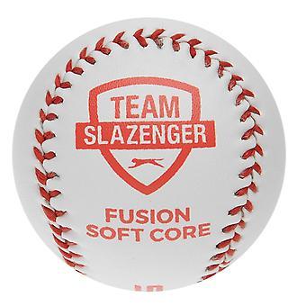 Slazenger Unisex Fusion zachte kern Rounders bal