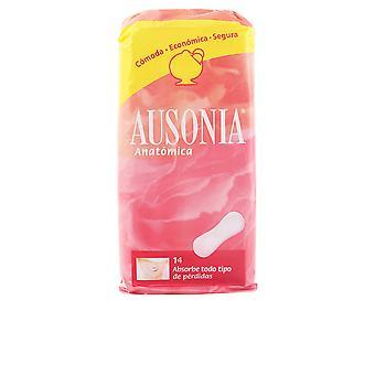 Ausonia Ausonia Anatomica Compresas 14 uds naisille