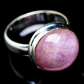 Kunzite Ring Size 5.5 (925 Sterling Silver)  - Handmade Boho Vintage Jewelry RING5469