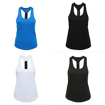Tri Dri Womens/Ladies Performance Strap Back Vest