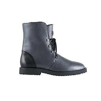 Hogl knuffelige donkergrijze laarzen vrouwen grijs