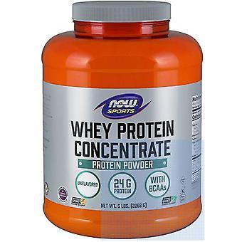 Wei proteïne concentraat-natuurlijke Ongeflavoreerd (2268 gram)-Now Foods