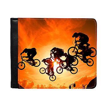 Cyklister Plånbok Med Myntfack