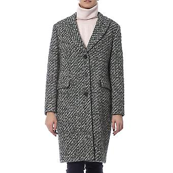 Knee Length Single Breasted Coat
