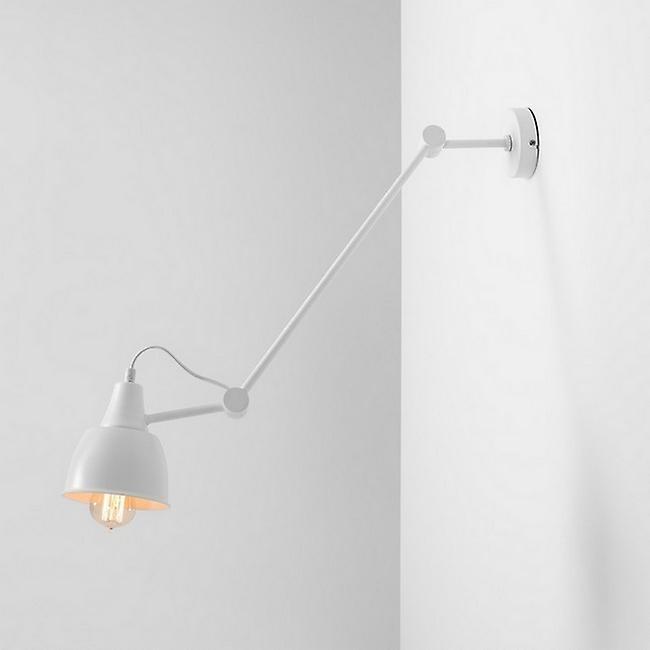 Lampada a Sospensione Compass Colore Bianco in Metallo, L13,5xP13,5xA86 cm
