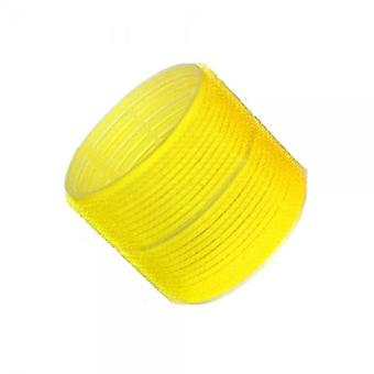 Hair tools cling rollers jumbo yellow 66mm x6