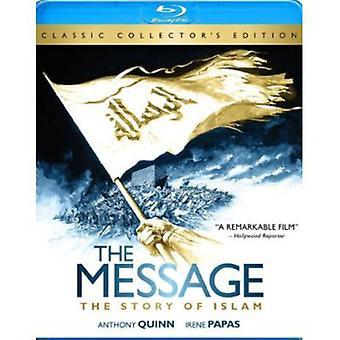 The Message [Blu-ray] [BLU-RAY] USA import