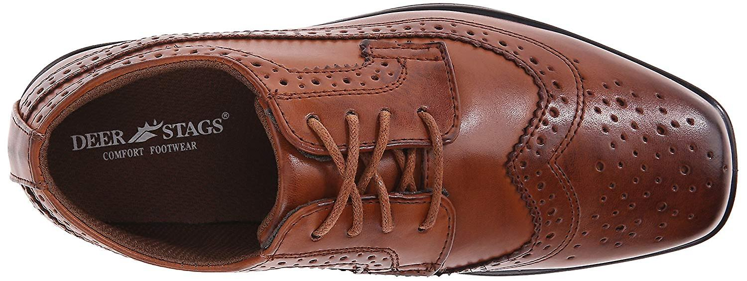 Kids Deer Stags Boys Ace Lace Up Oxfords