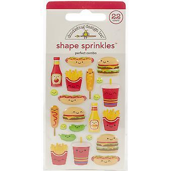 Doodlebug Design Perfect Combo Shape Sprinkles (22pcs) (6034)