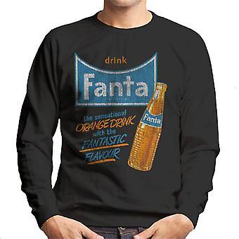Camisola dos homens do sabor fantástico da bebida Fanta 1960