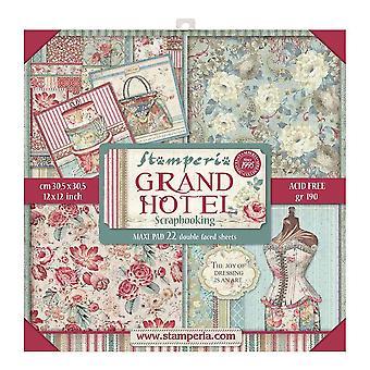 Гранд Отель 12x12 Дюймовый Макси Бумажный пакет (SBBXL03)