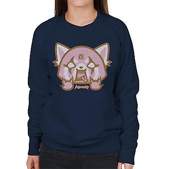 Aggretsuko Retsuko Pink Rage Women's Sweatshirt