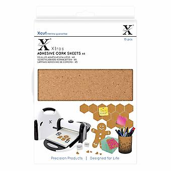 Xcut Xtra A5 Selvklæbende korkplader (15stk) (XCU 174403)