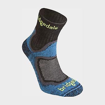 Bridgedale Men's Trail Sport Lichtgewicht Qw-ik Merino Cool Socks Blauw