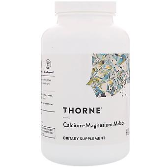 Thorne Research, Malato de calcio-magnesio, 240 cápsulas