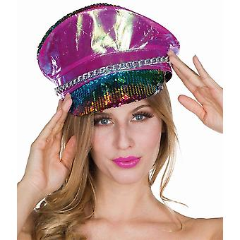 Parlayan Subay Payet Şapka Subay Şapkası