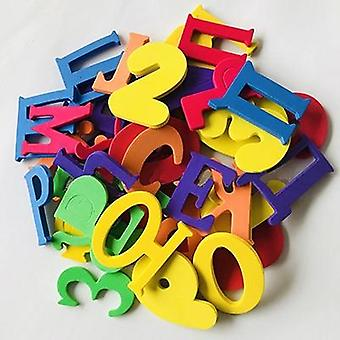Eva Alphanumeric Letter, Puzzle And Bath Toy For Early Education