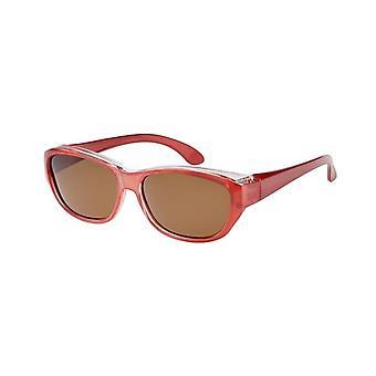 Óculos de Sol Conversão Unissex VZ-0027L vermelho