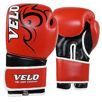 VELO Gel Leather Boxing Gloves PR10