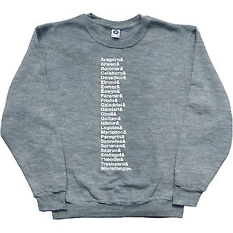 Lord of the Rings Expanded Line-Up Ash Sweatshirt