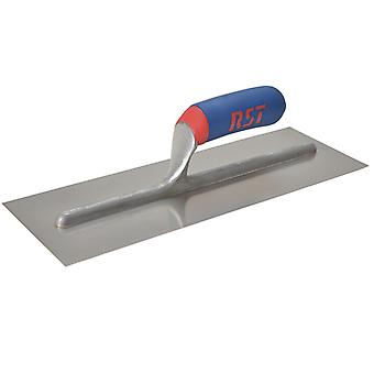 "R.S.T. Plasterers Finishing Trowel SS Soft Touch Handle 13x5"" RSTRTR13SSD"