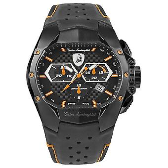 Tonino Lamborghini - Wristwatch - Men - GT1 - orange - T9GB