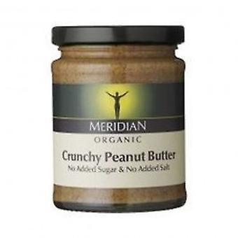 Meridian - Org Crunch Peanut ButterNoSalt 280g