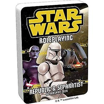 Star Wars RPG Republiek en Separatist tegenstander Dek