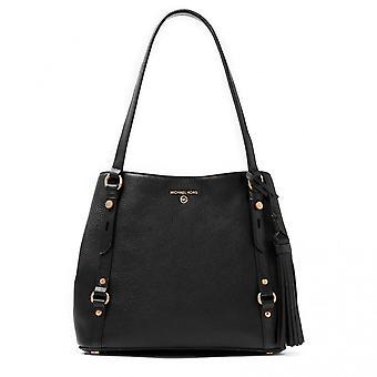 MICHAEL Michael Kors Carrie Large Leather Shoulder Bag