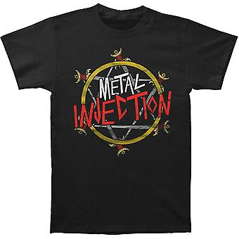 Metal Injection Reign Injection T-shirt