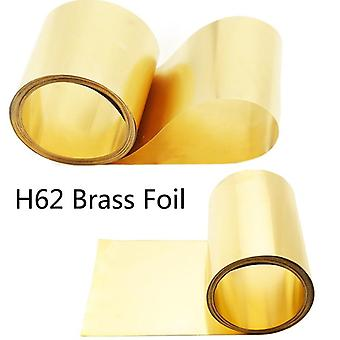 High Purity Roll Thin Brass Sheet, Strip Film, Foil Plate