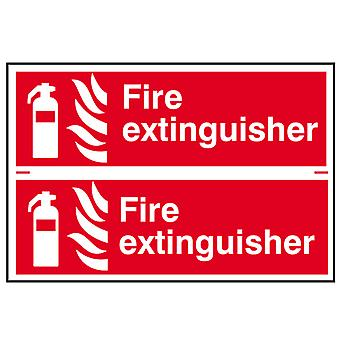 Scan Fire Extinguisher - PVC 300 x 200mm SCA1351